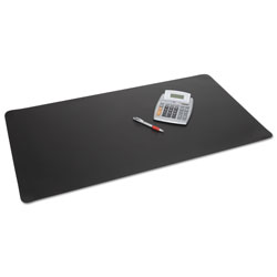 Artistic Office Products Rhinolin II Desk Pad with Antimicrobial Product Protection, 24 x 17, Black