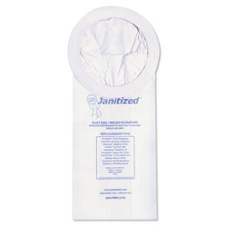 Janitized Vacuum Filter Bags Designed to Fit ProTeam 10 Qt. Super Coach/MegaVac, 100/CT
