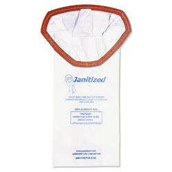 Janitized Vacuum Filter Bags Designed to Fit ProTeam Super Coach Pro 10, 100/CT