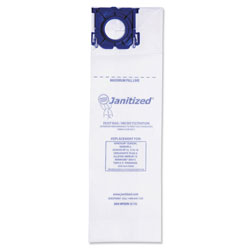 Janitized Vacuum Filter Bags Designed to Fit Windsor Sensor S/S2/XP/Versamatic Plus, 100CT