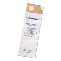 Janitized Vacuum Filter Bags Designed to Fit Windsor Versamatic, 100/CT