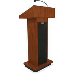 Amplivox Executive Sound, Column Lectern, 43 in x 21 in x 15 in, MOK