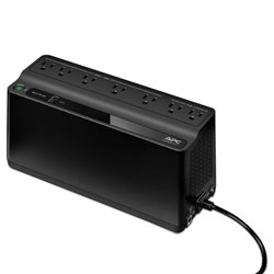 APC Smart-UPS 600 VA Battery Backup System, 7 Outlets, 490 J