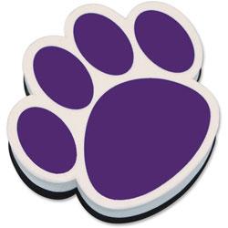 Ashley Magnetic Eraser Paw, Purple