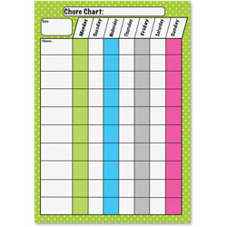 Ashley Chore Chart Magnets, Multi