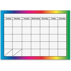 Ashley Dry Erase Magnetic Calendar, 1-Month, Multi