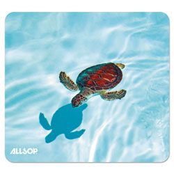 Allsop Naturesmart Mouse Pad, Turtle Design, 8 1/2 x 8 x 1/10