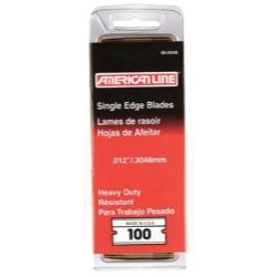 American Line Pro .012 Heavy Duty Single Edge Blade