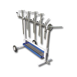 Astro Pneumatic Universal Rotating Super Work Stand for Paint and Body