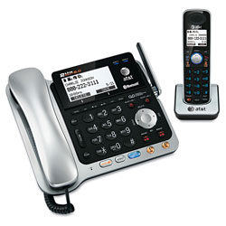 Vtech TL86109 Two-Line DECT 6.0 Phone System with Bluetooth