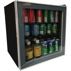 Avanti Products Refrigerator, 1.6 Cubic Feet, 18-1/4 inWx17-1/4 inLx20 inH, Black
