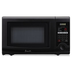 Avanti Products 0.7 Cubic Foot Capacity Microwave Oven, 700 Watts, Black