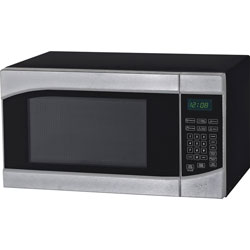 Avanti Products MT9K3S 0.9 Cubic Foot Microwave Oven - Single - 6.73 gal Capacity - Microwave - 10 Power Levels - 900 W Microwave Power - 120 V AC - Glass - Stainless Steel, Black