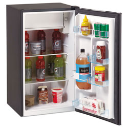Avanti Products 3.3 Cu.Ft Refrigerator with Chiller Compartment, Black