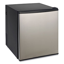 Avanti Products 1.7 Cu.Ft Superconductor Compact Refrigerator, Black/Stainless Steel