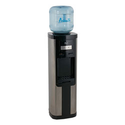 Avanti Products Hot and Cold Water Dispenser, 3-5 gal, 13 x 38.75, Stainless Steel