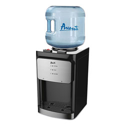 Avanti Products Counter Top Thermoelectric Hot and Cold Water Dispenser, 3 to 5 gal, 12 x 13 x 20, Black
