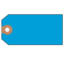 Avery Unstrung Shipping Tags, Paper, 4 3/4 x 2 3/8, Blue, 1,000/Box