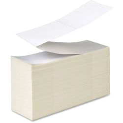 Avery Industrial Direct Thermal Labels for Thermal Printers, 04135, 4 in x 6 in, White, Fanfold, 2,000 Labels