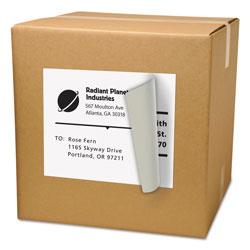 Avery Shipping Labels with TrueBlock Technology, Inkjet/Laser Printers, 8.5 x 11, White, 500/Box