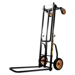 Advantus Multi-Cart 8-in-1 Cart, 500 lb Capacity, 33.25 x 17.25 x 42.5, Black