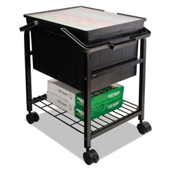 Advantus Heavy-Duty File Shuttle, 17.13w x 14.25d x 20h, Black