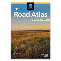 Rand McNally Rand McNally Road Atlases, 2019, Stapled, 144 Pages