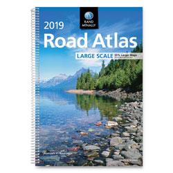 Rand McNally Rand McNally Road Atlases, 2019, Spiral, 264 Pages