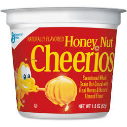 Honey Nut Cheerios® Honey Nut Cheerios Cereal, Single-Serve 1.8 oz Cup, 6/Pack