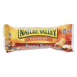 Nature Valley® Granola Bars, Peanut Butter Cereal, 1.5 oz Bar, 18/Box