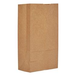 GEN Grocery Paper Bags, 50 lbs Capacity, #12, 7 inw x 4.38 ind x 13.75 inh, Kraft, 500 Bags