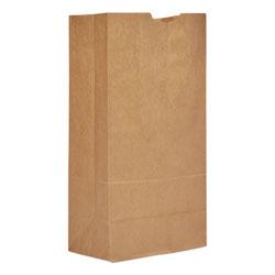 GEN Grocery Paper Bags, 20 lbs Capacity, #20, 8.25 inw x 5.94 ind x 16.13 inh, Kraft, 500 Bags