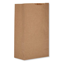 GEN Grocery Paper Bags, 52 lbs Capacity, #2, 8.13 inw x 4.25 ind x 9.75 inh, Kraft, 500 Bags