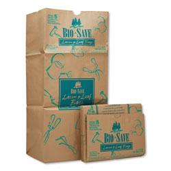 GEN Lawn and Leaf Bags, 30 gal, 16 in x 35 in, Kraft, 50 Bags