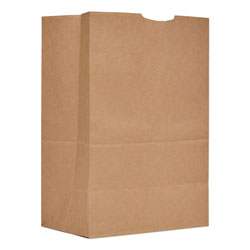 Duro Grocery Paper Bags, 52 lbs Capacity, 1/6 BBL, 12 inw x 7 ind x 17 inh, Kraft, 500 Bags