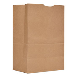 General Grocery Paper Bags, 57 lbs Capacity, 1/6 BBL, 12 inw x 7 ind x 17 inh, Kraft, 500 Bags