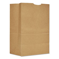Duro Grocery Paper Bags, 75 lbs Capacity, 1/6 BBL, 12 inw x 7 ind x 17 inh, Kraft, 400 Bags