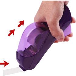 Baumgarten's Handheld Trigger Tape Dispenser, Purple