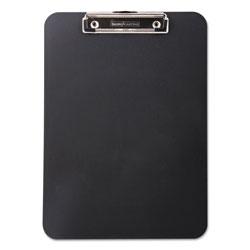 Baumgarten's Unbreakable Recycled Clipboard, 1/2 in Capacity, 8 1/2 x 11, Black