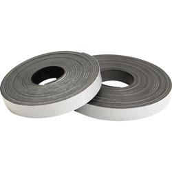 """Baumgarten's Magnetic Tape, Refill,15'x1/2"""", Black"""