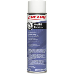 Betco Graffiti Remover, Spray, Flammable, 15 oz Net Weight