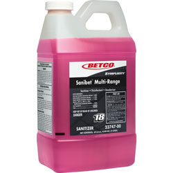 Betco Sanitizer, Concentrated, FastDraw, .53 Gal