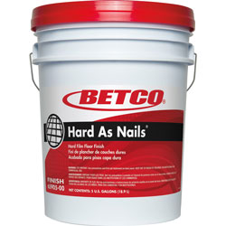 Betco Floor Finish, Dries Clear, 5 Gallon Pail