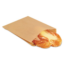 Ecocraft EcoCraft Grease-Resistant Sandwich Bags, 6.5 in x 8 in, Natural, 2,000/Carton