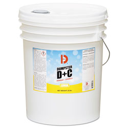 Big D Dumpster D Plus C, Neutral, 25 lb, Bucket