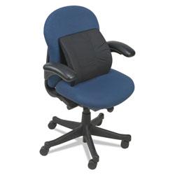 DMI Furniture Lumbar Cushion, 14w x 3.88d x 13h, Black