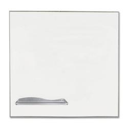 Balt Porcelain Magnetic Dry Erase, 4' x 4', Aluminum Frame