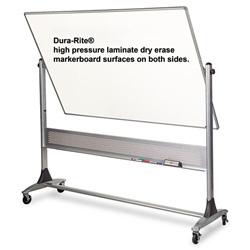 Balt Dry Erase Board, 72 in x 48 in, Silver Frame