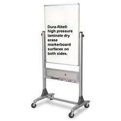 Balt Platinum Reversible Dry Erase Board, 30 x 40
