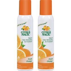 Beaumont Citrus Magic Fresh Orange Scent Air Spray, Fresh Orange Scent, 7 fl. oz., 2/PK